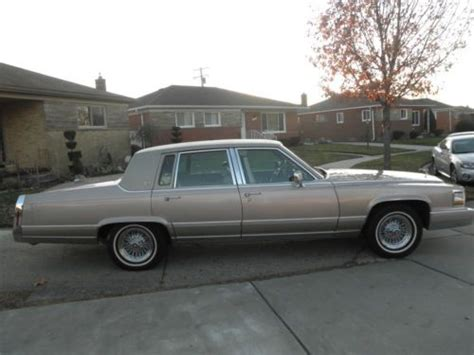 where to buy car manuals 1992 cadillac fleetwood interior lighting purchase used 1992 cadillac brougham rwd 5 7 liter in southfield michigan united states