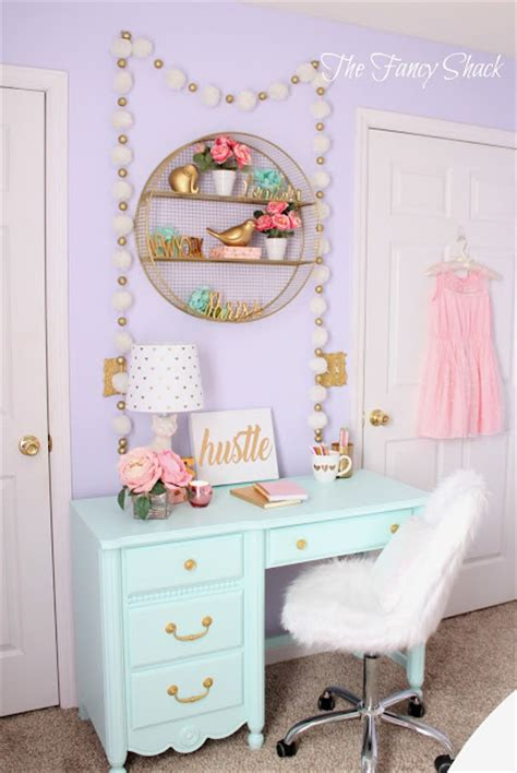 fancy name for bedroom the fancy shack pastel girls room makeover