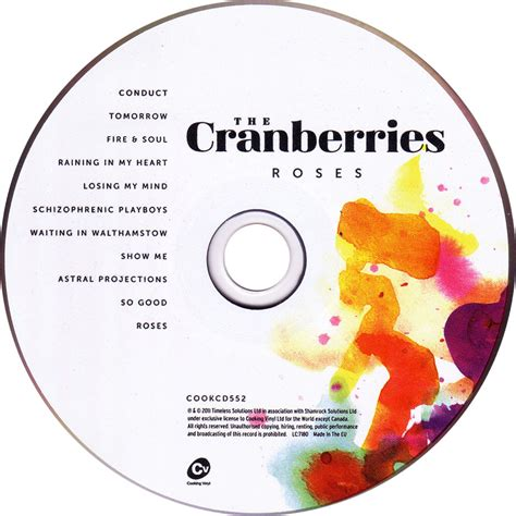 Cd The Cranberries Roses Index Of Caratulas T The Cranberries
