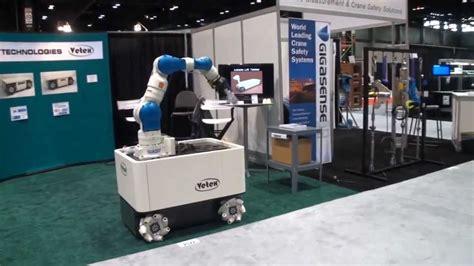 film robot mobil motoman robot on vetex mobile platform youtube