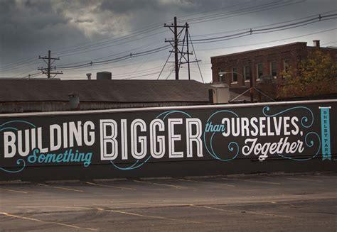 motivational wall murals 12 inspirational lettering projects webdesigner depot