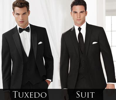 tuxedo q&a: what's the difference between tuxedos and suits?