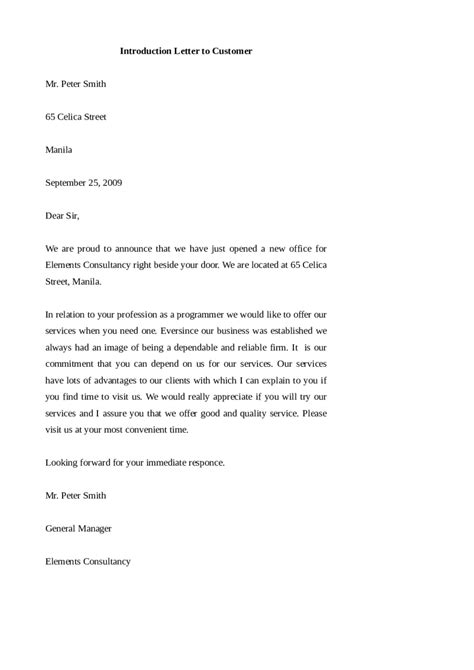 Business Introduction Letter Model 2018 introduction letter templates fillable printable