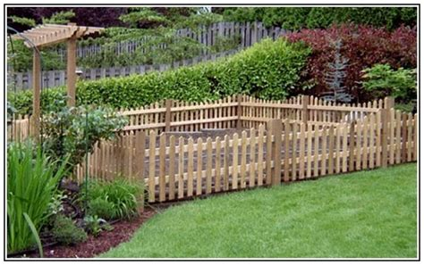 small fence ideas ideas for small garden fenc 19827