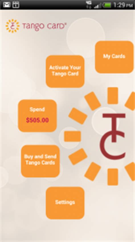 Tango Gift Card - mobile gift card apps from tango card