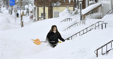 Erie Pa Records Brings Record Snow To Erie Pennsylvania Nbc News