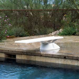 Swimming Pool With Diving Boards Interfab Edge 6 Diving Board Stand Combo For Inground