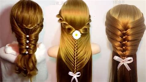 most beautiful and easy hairstyles dailymotion the most beautiful hairstyles tutorials february 2017