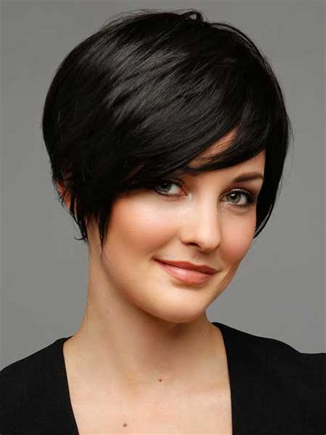 bob haircuts that cut shorter on one side new short straight hairstyles short hairstyles 2016