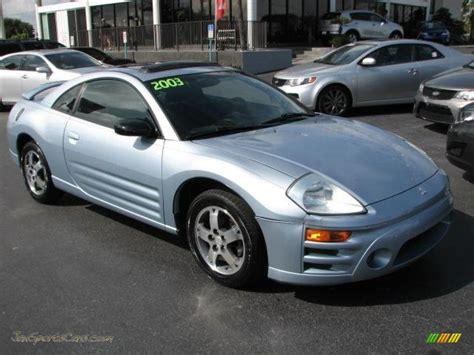mitsubishi eclipse 2003 gs 2003 mitsubishi eclipse gs coupe in steel blue pearl