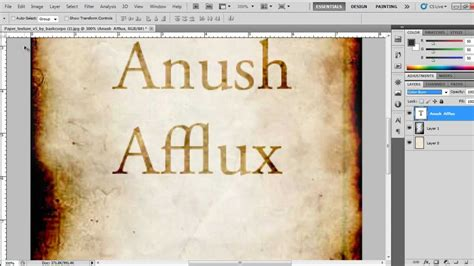 How To Make Paper Look And Burnt - how to make a burned paper texture using photoshop