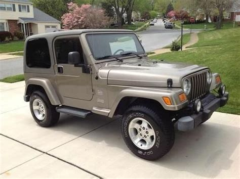 Used 4 0l Jeep Engine For Sale Sell Used 2004 Jeep Wrangler 4x4 Powered By A 190hp