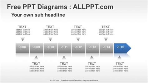 8 Years Timeline Ppt Diagrams Download Free Free Powerpoint Templates Timeline