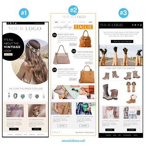 Email Newsletter Psd Html Template Custom E Commerce Yahoo Ecommerce Website Templates