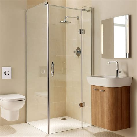 Frameless Hinged Glass Shower Doors Coram Premier Frameless Rh Hinged Shower Door Fhd80rcup 800mm Frameless Clear
