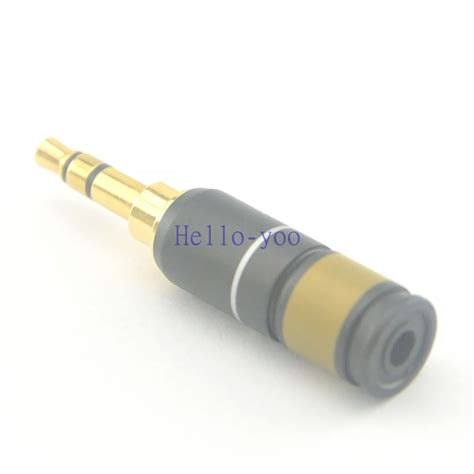 3 5 Mm To 3 5 Mm Audio Cable 5pcs lot 3 5 mm stereo audio connector 3 pin 3 5mm