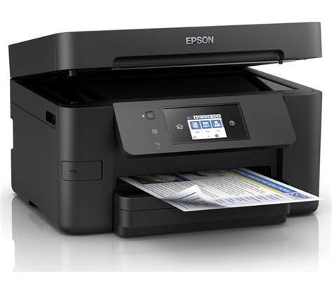 Printer Epson Workforce Pro Wf 6091 buy epson workforce pro wf 3725 all in one wireless inkjet printer with fax free delivery currys