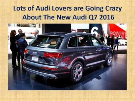 cost of audi car in india the new audi q7 2016 car club india review price