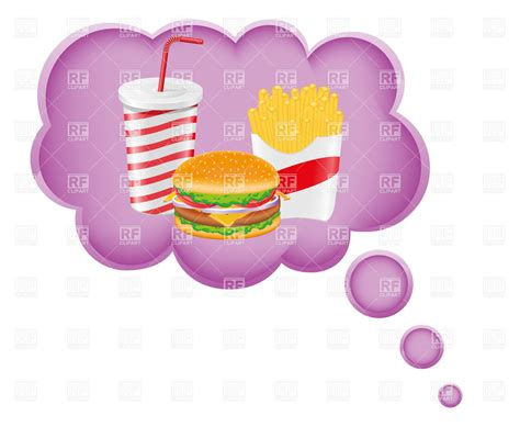 about food dreaming about food 19306 food and beverages royalty free vector clip