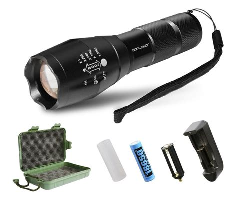 Brightest Led Tactical Flashlight Sdflayer T6 High Powered Brightest Led Light
