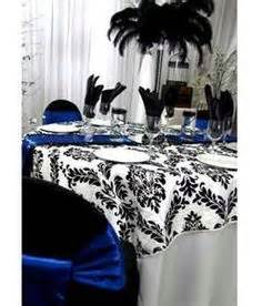 Black White And Royal Blue Wedding » Home Design 2017