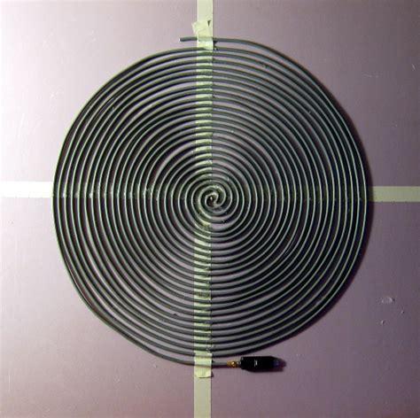 archimedean spiral antenna w rtlsdr