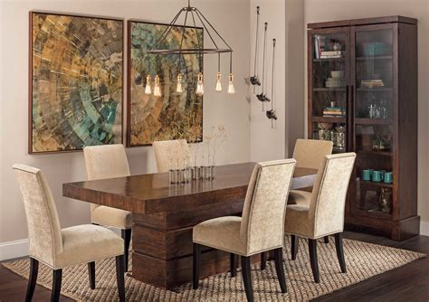 Rustic Modern Dining Room Tables Rustic Modern Dining Table Dining Room Eclectic With Camino Bookcase High Fashion