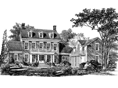 georgian colonial house plans georgian house plan with 4070 square and 4 bedrooms from home source house plan
