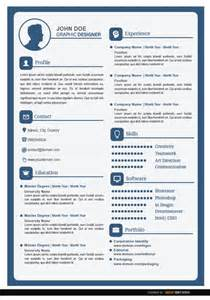 Best Resume Color Schemes by This Is A Simple Resume In White And Blue Colors With