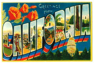 vintage postcard travel designs