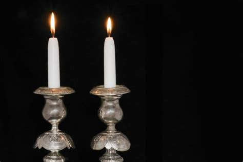 shabbat candle lighting nyc shabbos candle lighting decoratingspecial com