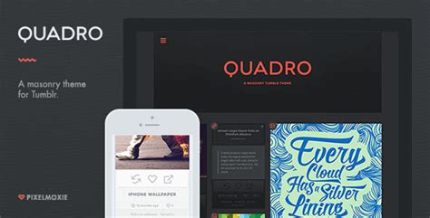 tumblr themes quadro quadro a masonry theme for tumblr by pixelmoxie