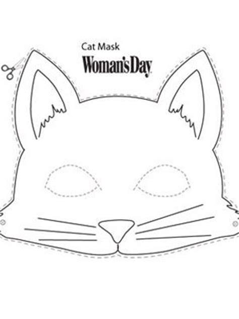 printable cat mask template 25 best ideas about cat mask on animal mask