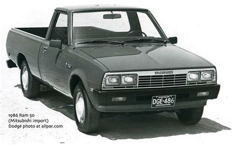 dodge mitsubishi truck 1986 dodge ram d50 mitsubishi forte s u v truck