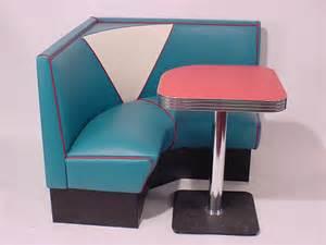 White Yellow Kitchen - half circle booths restaurant diner retro 1950 s kitchen
