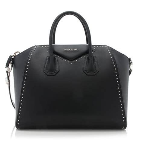 New Givenchy Antigona Studded givenchy studded calfskin antigona medium satchel