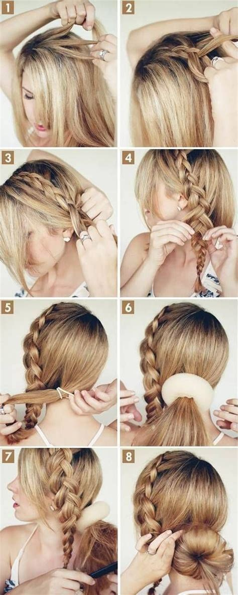 hairstyles buns step by step 15 cute hairstyles step by step hairstyles for long hair
