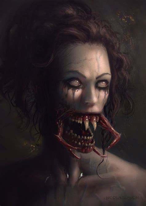 the art of horror best 25 horror art ideas on creepy art dark art drawings and creepy drawings