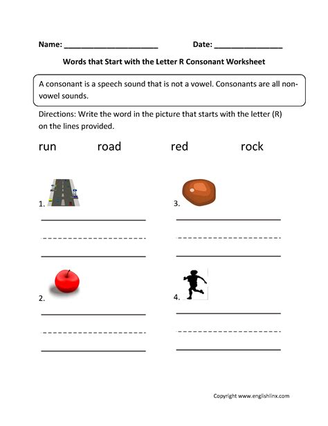 Letter R Lyrics Kindergarten Words That Start With The Letter R Letter R Worksheets Free Printablekids