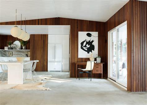 mid century style house tour luxuriously minimal mid century modern home