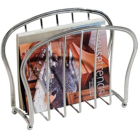 floor magazine rack chrome in floor magazine racks