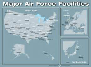united states bases map closed facilities of the united states air