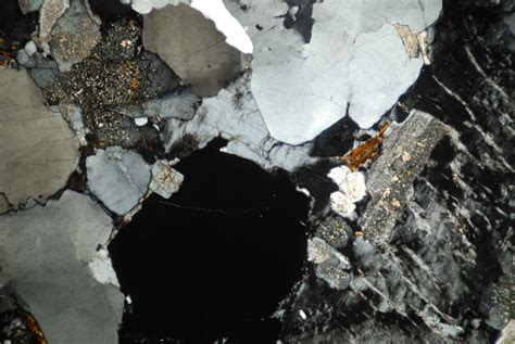Granite Thin Section by Thin Sections Come Home Guernsey Museums