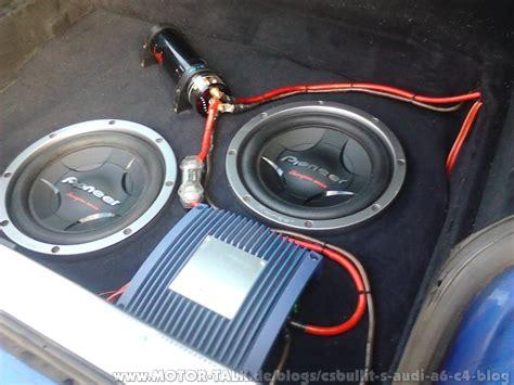 Subwoofer Auto Einbau Anleitung by Car Hifi Projekt Im 97er A6 C4 Csbullit 180 S Audi A6 C4