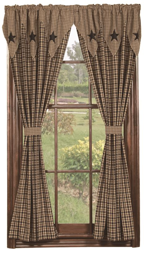 Primitive Window Curtains Bathroom Decor Primitive Home Decors