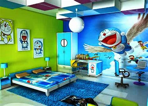 Cat Acrylic Untuk Sepatu 10 gambar wallpaper dinding kamar tidur anak motif doraemon