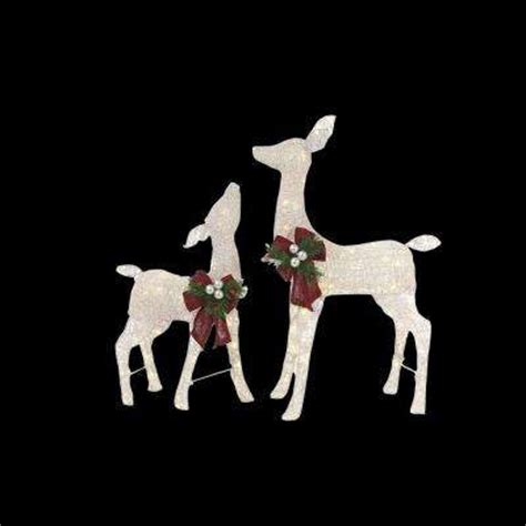 Lighted Deer by Yard Decorations Outdoor Decorations