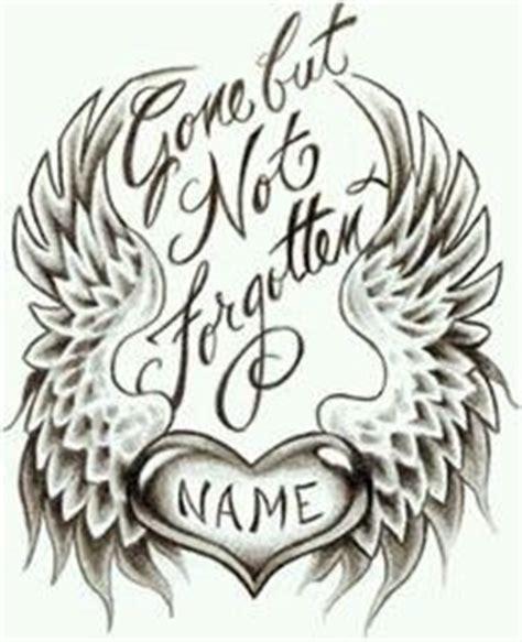 gone but not forgotten tattoo but not forgotten