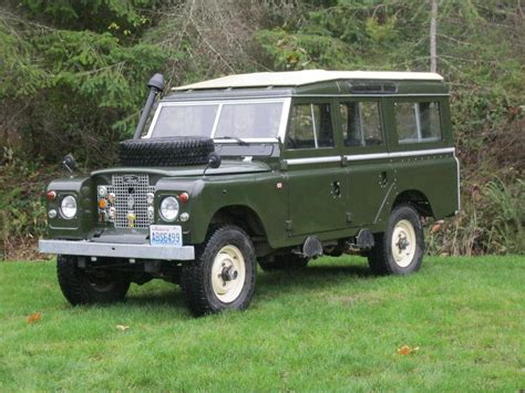land rover safari 2018 1971 land rover safari for sale 2042212 hemmings motor news