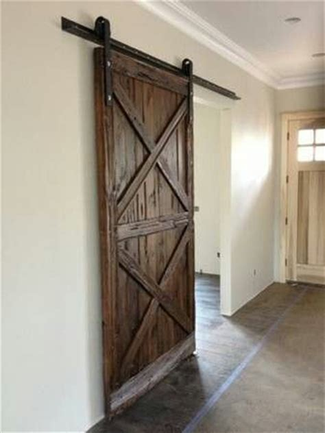 Hanging Barn Bedroom Door For The Home Pinterest Hanging A Barn Door